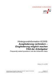 Infos... - Ausgleichskasse Schwyz