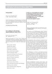 Erlass zur Ausgestaltung der Berufs- und Studienorientierung in - OloV