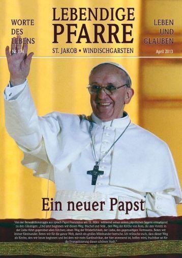 Pfarrbrief 174 - Pfarre Windischgarsten - Diözese Linz