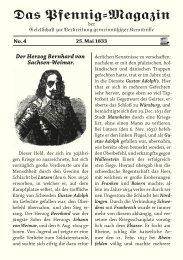 Das Pfennig-Magazin – No. 4 (Ausgabe vom 25. Mai 1833) - Igelity