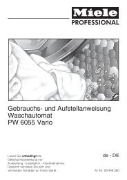 Gebrauchsanweisung - Grimm-Gastrobedarf