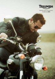 Bekleidung & Accessoires Kollektion 2013 - Triumph Motorcycles