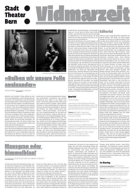 März/April 2010 als PDF. - Konzert Theater Bern