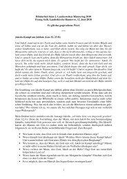1 Bibelarbeit beim 2. Landesweiten Männertag 2010 Evang.-luth ...