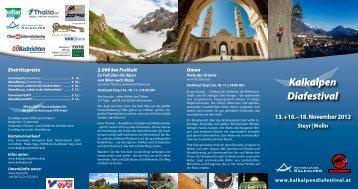 Kalkalpen Diafestival - Nationalparks Austria