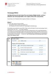 Homepage-Wetter - MeteoSchweiz