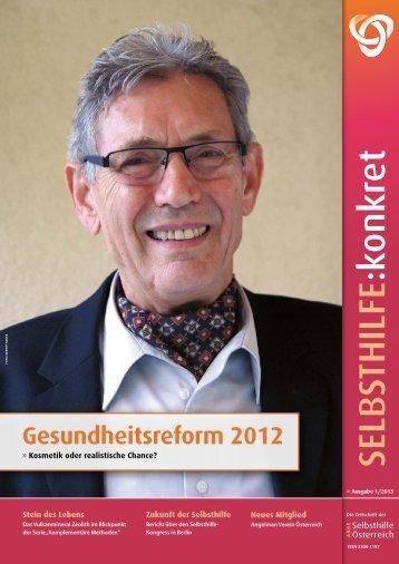 SELBSTHILFE :konkret - der ARGE : Selbsthilfe Österreich