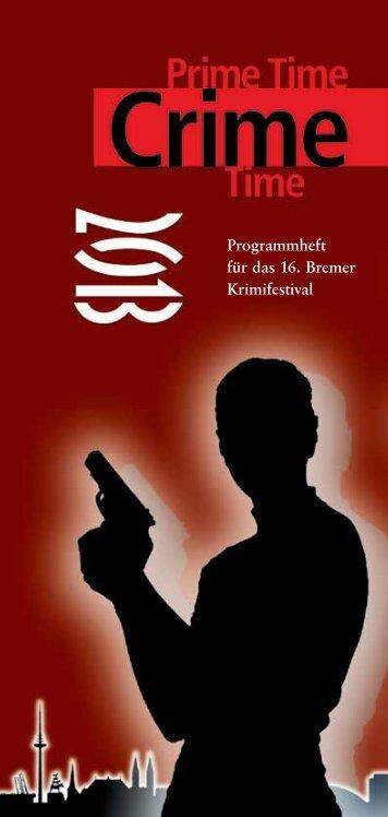 Programmheft für das 16. Bremer Krimifestival - Slam-Bremen