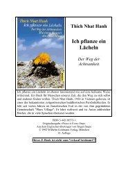 """""""Ich pflanze ein Lächeln"""" (PDF) - Shi De Buddhismus"""