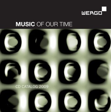 MUSIC OF OUR TIME - Schott Music