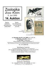 auktion 14 katalog neu.indd - Tiergarten.com