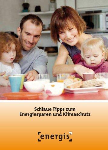Schlaue Tipps zum Energiesparen und Klimaschutz