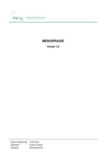 Menorragie Magazines