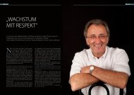 """""""WACHSTUM MIT RESPEKT"""" - Hans-Jürgen Thoma"""