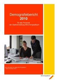 Demografiebericht 2010 - Stadt Mönchengladbach