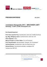 Text als PDF Download - Brucknerhaus