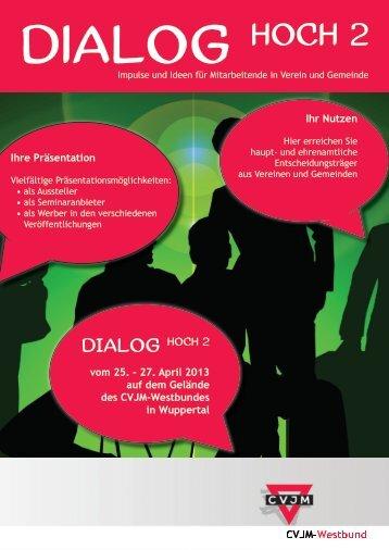 Flyer - Dialog hoch 2