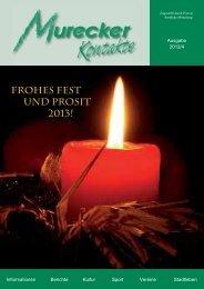 FROHES FEST UND PROSIT 2013! - Mureck