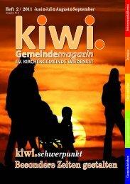 kiwi - Evangelische Kirchengemeinde Wiedenest