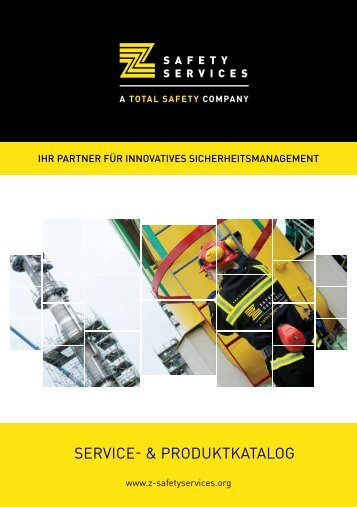 SERVICE- & PRODUKTKATALOG - Z-Safety Services