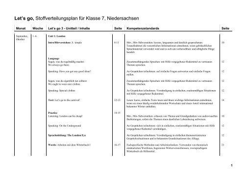 Stoffverteilungsplan Let's go Klasse 7 (PDF Datei, 176 04 KB)