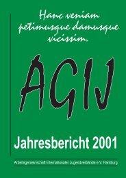 Jahresbericht 2001 - AGIJ eV