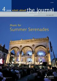 Summer Serenades - Schott Music