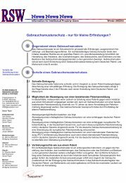 Winter 2002 - Reinhard Skuhra Weise & Partner, GbR