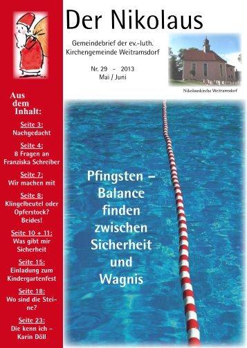 Der Nikolaus - Evangelische Kirchengemeinde St. Nikolaus ...