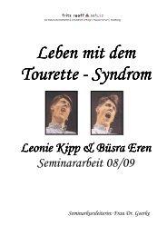 Gesamtseminararbeit 5 - Gilles de la Tourette Syndrom - Homepage ...