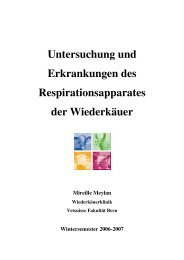 Skript Respiration Wdk Rev. 2006 - Vetsuisse-Fakultät