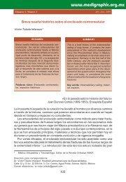 Breve reseña histórica sobre el enclavado ... - edigraphic.com