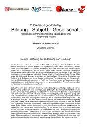 Bremer Erklärung zur Bedeutung von