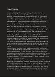 Text und Interview zur Inszenierung - Stephan Suschke