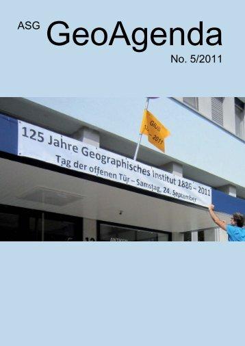 GeoAgenda 2011-5.indd - Verband Geographie Schweiz