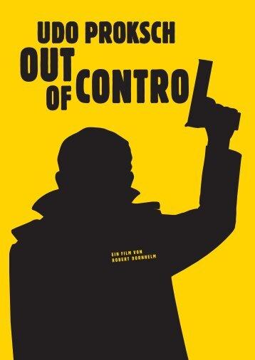Presseheft - Udo Proksch - Out of Control