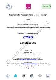 Langfassung Version 1.7 - Nationale VersorgungsLeitlinien