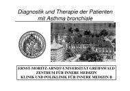 Diagnostik und Therapie der Patienten mit Asthma 2007 sw
