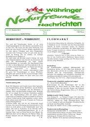 Zeitung Oktober 2011 - Naturfreunde