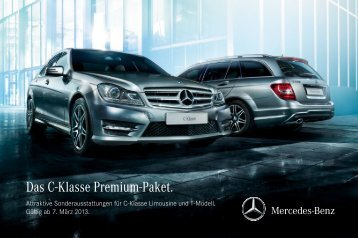 Das C-Klasse Premium-Paket. - Auto Senger