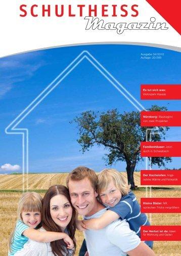 SWB Magazin 04 2010 - SCHULTHEISS Wohnbau AG