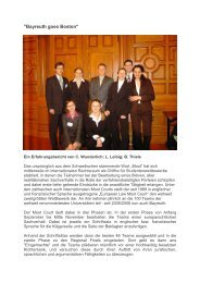 European Law Moot Court Team 2005/2006 - Prof. Dr. Jörg Gundel
