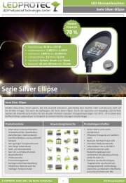 Serie Silver Ellipse - LEDPROTEC GmbH