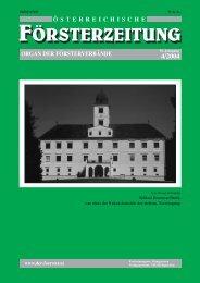 Ausgabe 4/2004 - Der Verband Österreichischer Förster