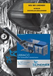 URRACO - Lindner Mobile Shredder GmbH