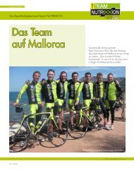 Das Team auf Mallorca - Nutrixxion
