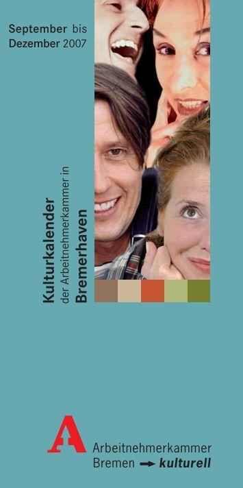 K ulturkalender Bremerhaven - GEW Bremen