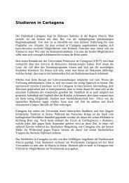 Universidad Politécnica de Cartagena - Hochschulbüro für ...