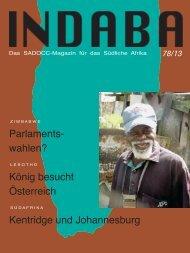 Das aktuelle Heft (Juni 2013) - SADOCC