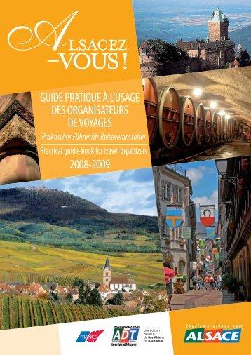 guide pratique à l'usage des organisateurs de - Tourisme Alsace